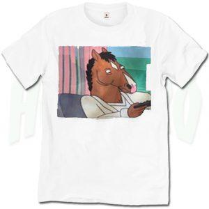Funny BoJack Horseman Vintage Cartoon T Shirt
