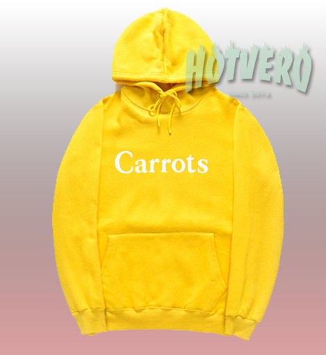 Funny Carrots Wordmark Unisex Pullover Hoodie