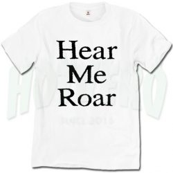 Hear Me Roar Game Of Thrones Size Plus T Shirt
