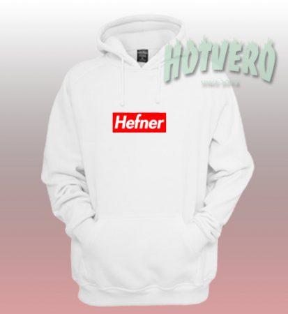 Hefner Supreme Hoodie Parody Style