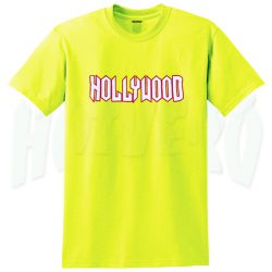 Hollywood Vintage T Shirt Design For Teen