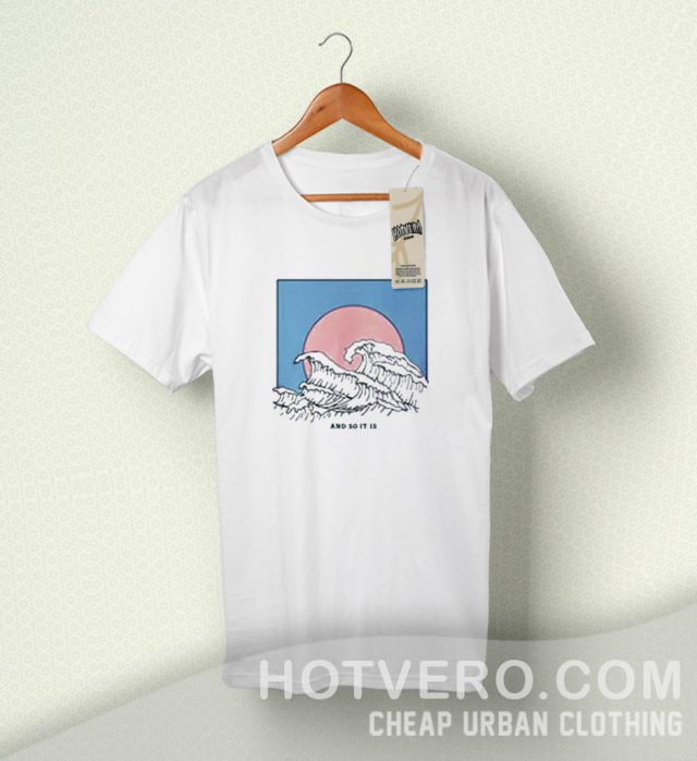 Japanese Wave And So It Is Summer T Shirt