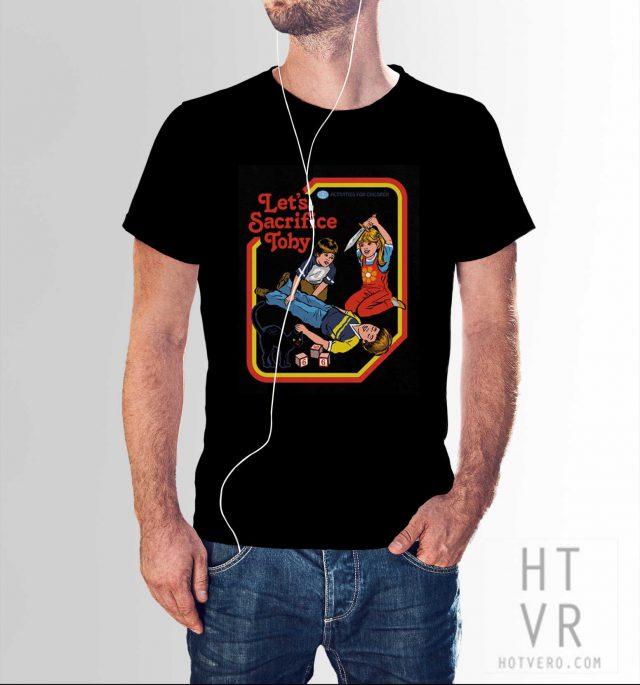 Lets Sacrifice Toby Vintage 80s T Shirt