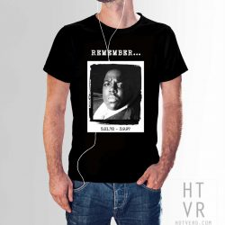 Notorious BIG Memorial Legend Hip Hop T Shirt
