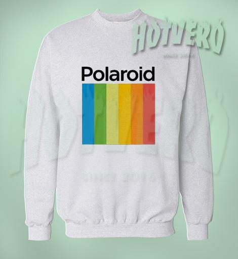 Polaroid Vintage Camera Unisex Sweatshirt For Teen