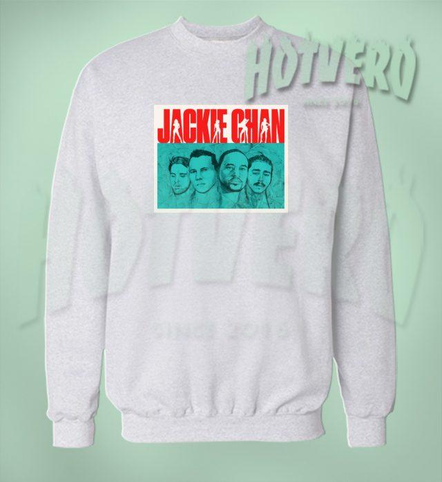 Post Malone Jackie Chan Hip Hop Sweatshirt
