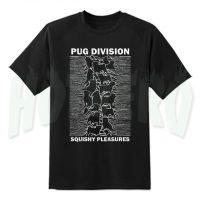 Pug Joy Division Parody T Shirt Squishy Pleasures