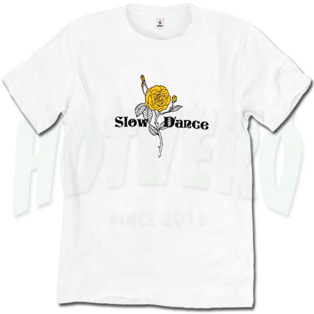 Slow Dance Vintage Rose T Shirt For Teen