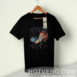 Space Arizona 1982 Mission To Mars Vintage T Shirt
