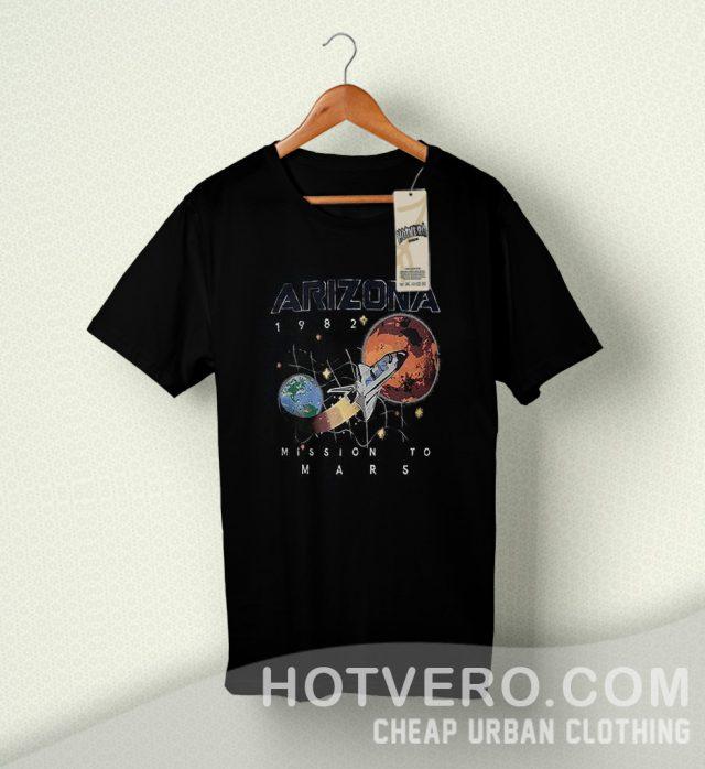 Space Arizona 1982 Mission To Mars Vintage T Shirt