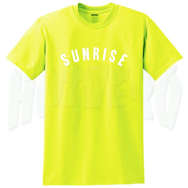 Sunrise Over The Rainbow Summer T Shirt For Teen