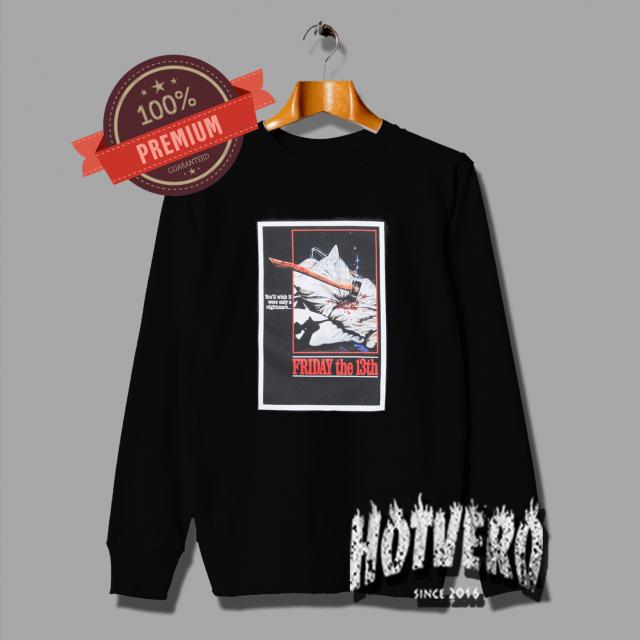 The Hundreds X Friday The 13th Jason Krueger Sweatshirt