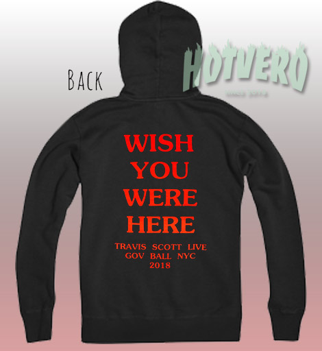 Travis Scott Tour Live GOV Ball NYC Hoodie