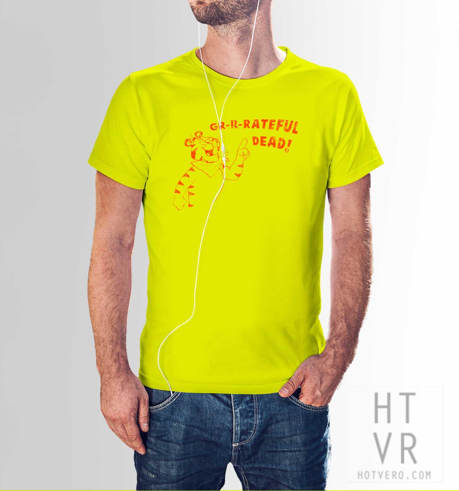 daaf6c47 Vintage Grateful Dead Concert T Shirt Tony The Tiger Tee