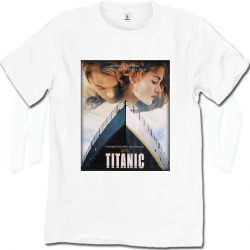 Vintage Titanic Movie True Love T Shirt