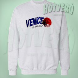 Vintage Venice Los Angeles Beach Summer Sweatshirt