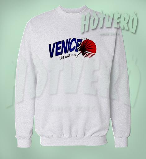 Vintage Venice Los Angeles Beach Summer Sweatshirt