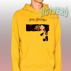 Yoashisdope Love and Basketball Cool Hoodie