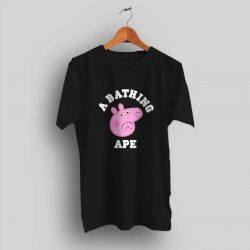 A Bathing Ape X Peppa Pig T Shirt