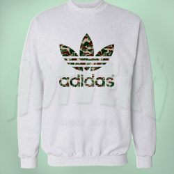 Adidas Bape Camo Unisex Sweatshirt Urban Fashion Collabs