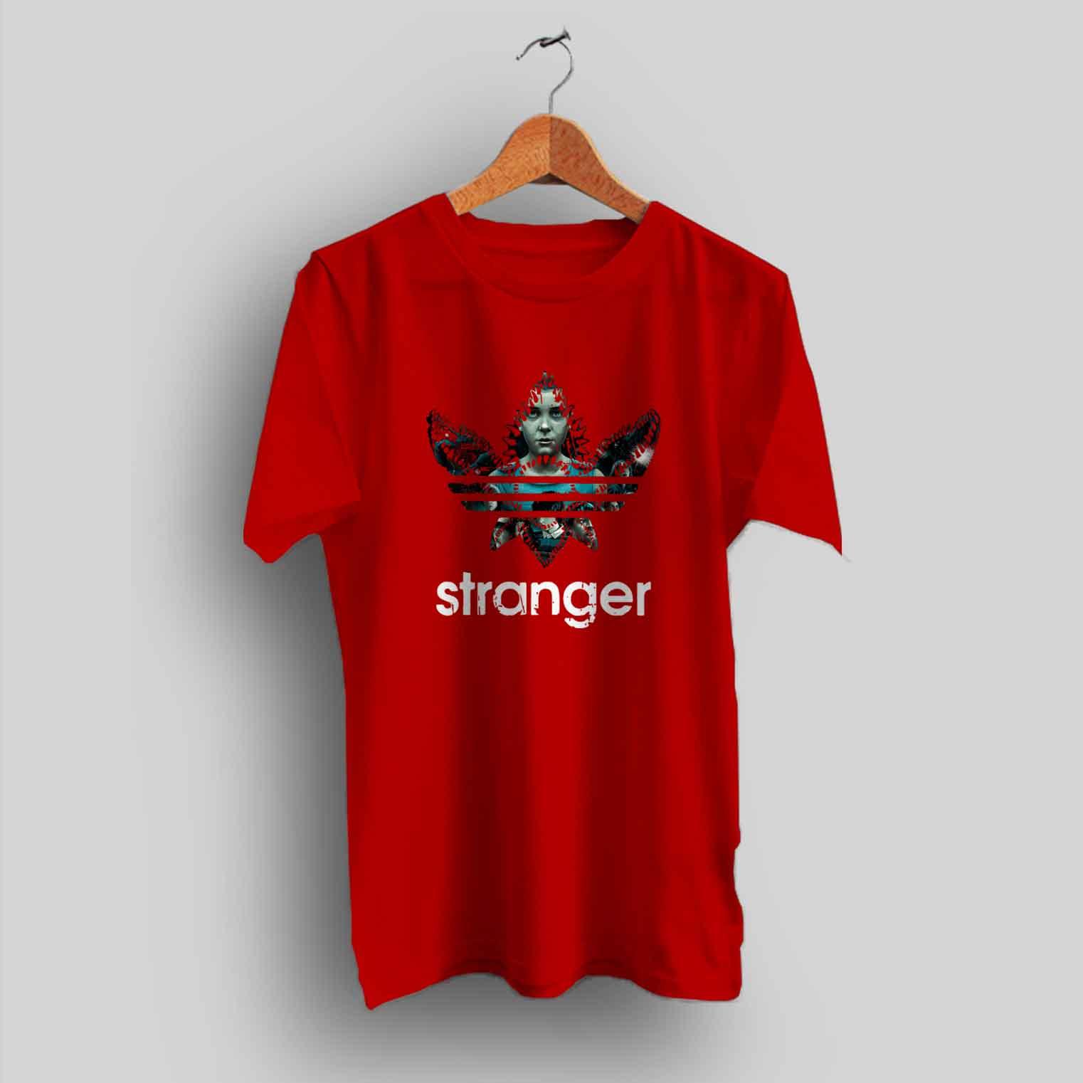 fc2cc220 Stranger Things Demogorgon Adidas Parody T Shirt - HotVero.com