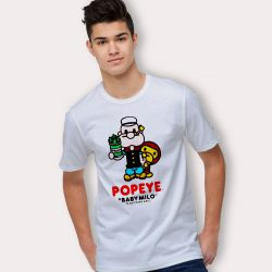 Bape A Bathing Ape X Popeye Urban T Shirt