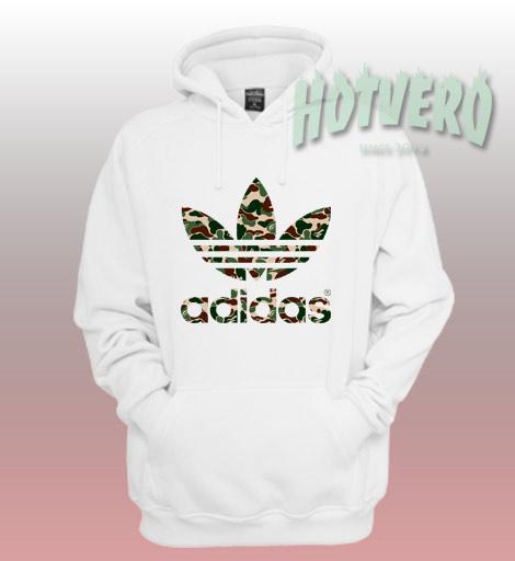 Bape Adidas Camo Collabs Unisex Hoodie