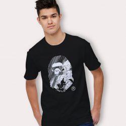 Bape X Dragon Ball Z T Shirt Urban Fashion Collaboration