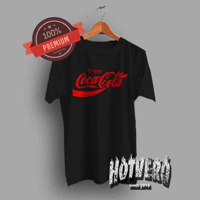 Cheap Enjoy Coca Cola Vintage T Shirt