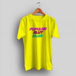 Cheap Popular Slut Club T Shirt Amber Rose Outfit