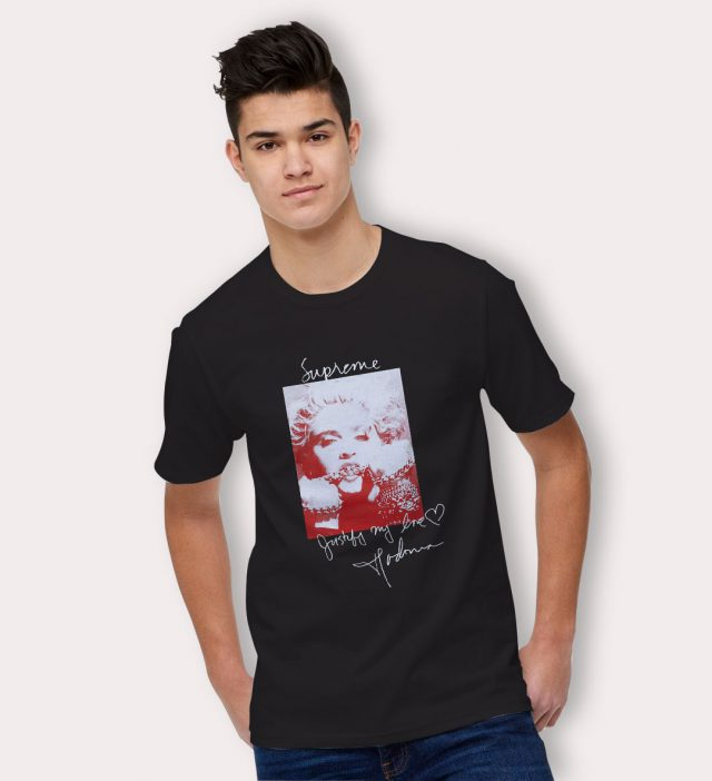 Cheap Supreme Madonna Urban T Shirt