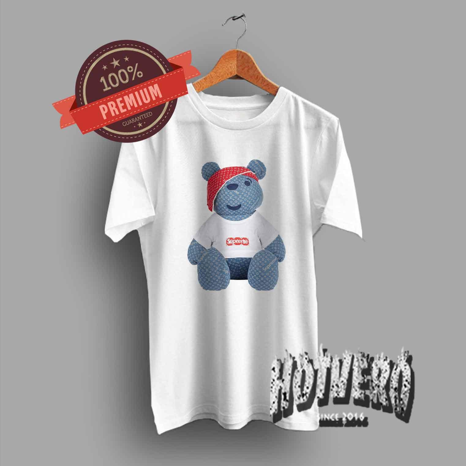 Cheap Supreme Pudsey Bear Urban T Shirt Collaboration - HotVero Com