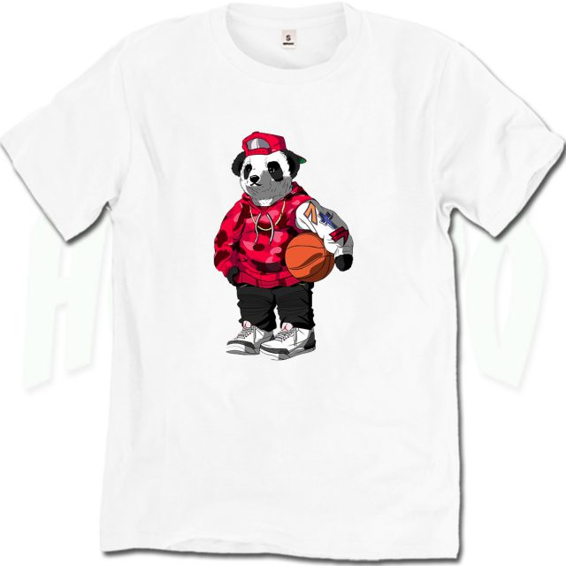 Cool Bape Panda Urban T Shirt For Sale
