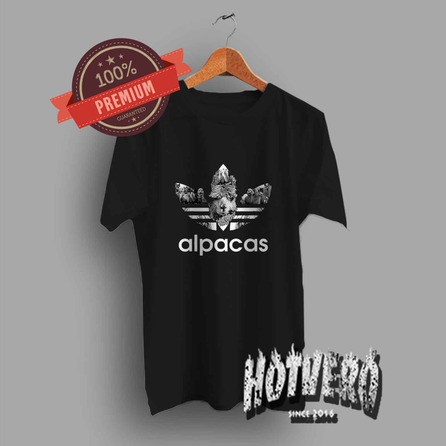 Cute Alpacas Adidas Inspired T Shirts