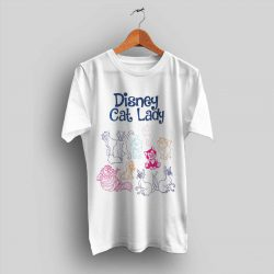 Disney Cat Lady Cute T Shirt for Women