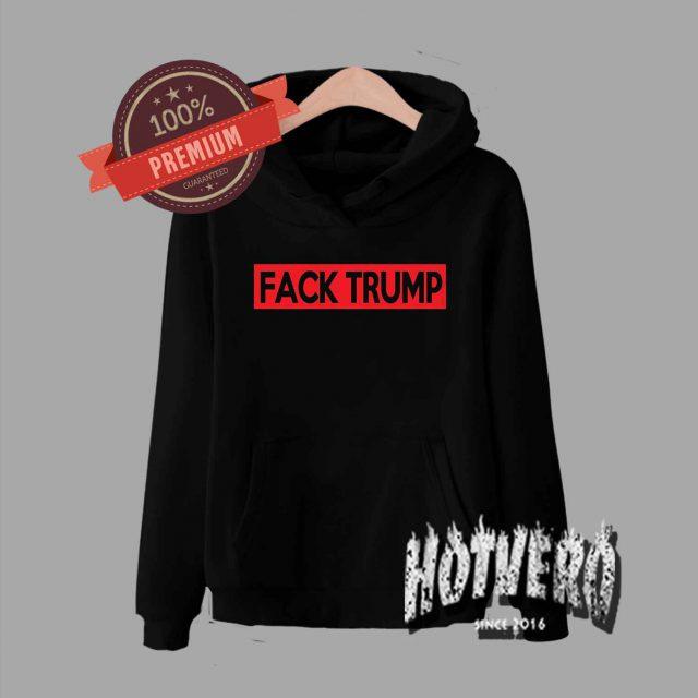EMINEM FACK TRUMP Tour Unisex Pullover Hoodie