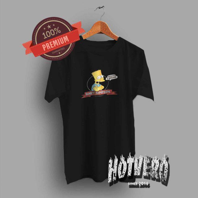 Gimme A Break Bart Simpson Vintage T Shirt 80s Style