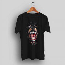 Givenchy Rottweiler Dog Black T Shirt