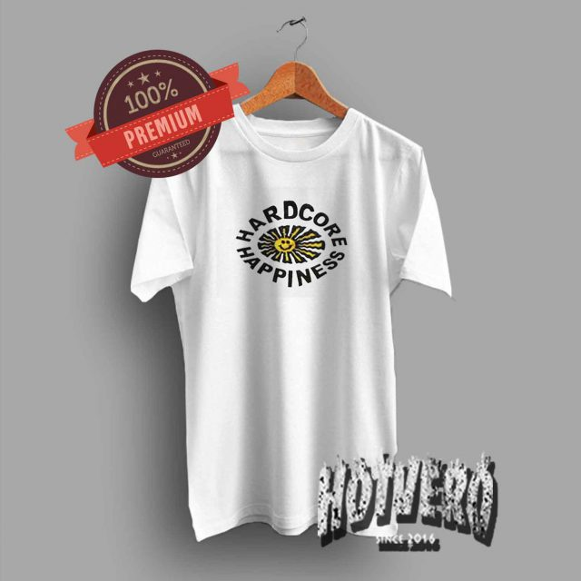 Hardcore Happines Vintage Summer T Shirt