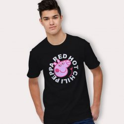 Funny RHCP Red Hot Chilli Peppa Pig T Shirt