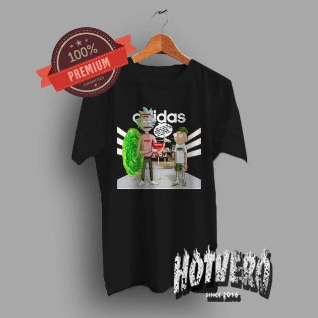 Rick Morty Adidas X Supreme X Bape Inspired T Shirt