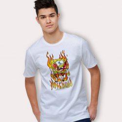 Spongebob Moschino Parody T Shirt Urban Streetwear