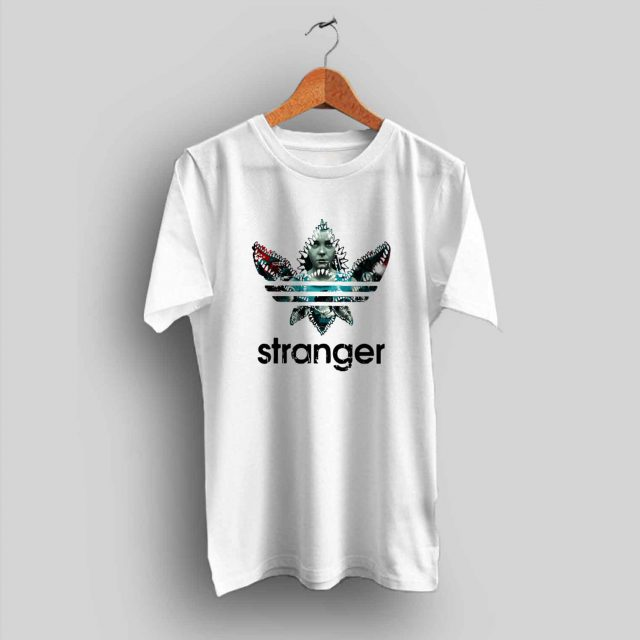 Stranger Things Demogorgon Adidas Parody T Shirt