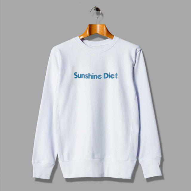 Sunshine Diet Summer Sweatshirt For Teen