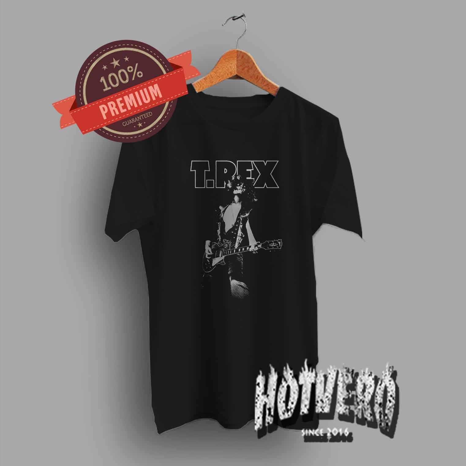 Official T Shirt T REX Vintage Logo Bolan   GLAM Marc All Sizes