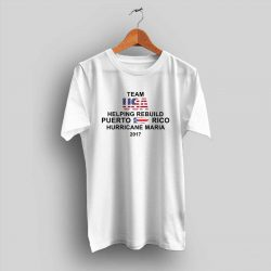 Team USA Rebuild Puerto Rico Hurricane Maria T Shirt
