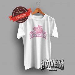 Thrasher Peppa Pig Pink Tee - Urban Streetwear