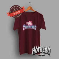 Thrasher Peppa Pig T Shirt Urban Fashion Collaboration