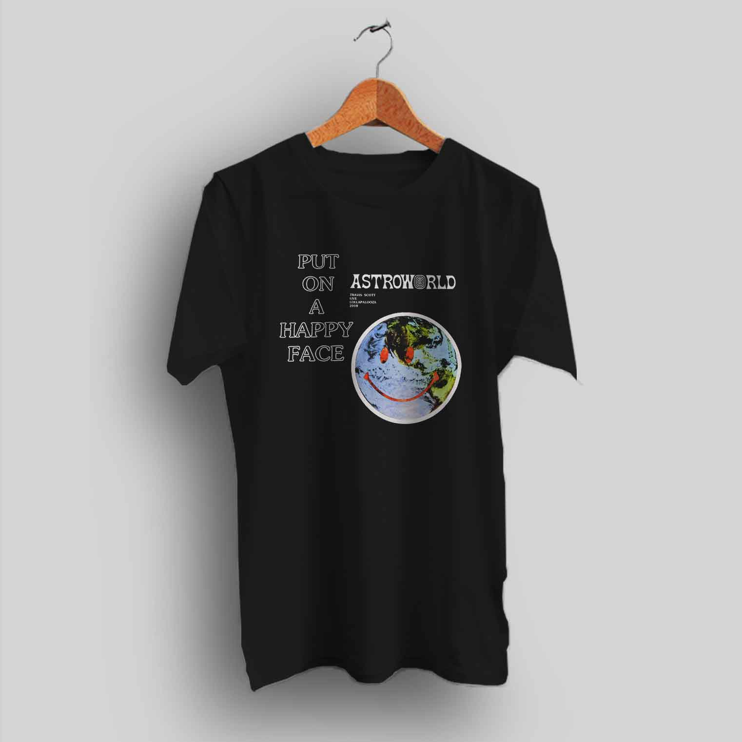 62e8209d Travis Scott Astroworld Live Lollapalooza Urban T Shirt - HotVero.com