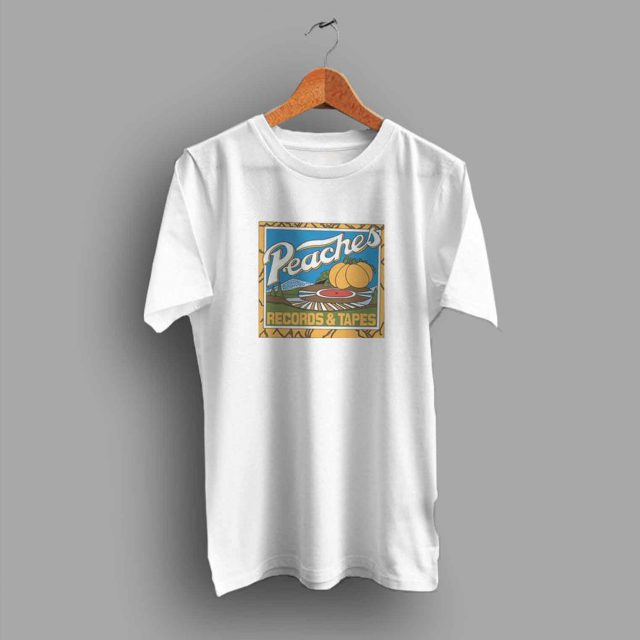 Vintage Peaches Records 90s T Shirt